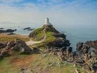 sea landscape - Lighthouse -------