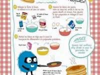 puzzle bonnes recettes - recette pour un petit déjeuner