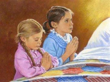 παιδική προσευχή - Παζλ προσευχής νηπιαγωγείου για νηπιαγωγείο