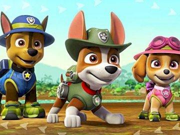 Pieski w dżungli - Pieski w dżungli ruszają do akcji