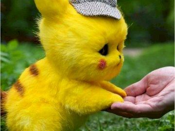 Pikachu réel - Pikachu dessiné en real life