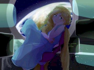 Cress-Marissa Meyer - Marissa Meyer realizo esta novela basado en el cuento de Rapunzel una chica que vivio encerrada en u