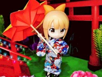 Image du Japon - Une jolie image du Japon façon nendoroid
