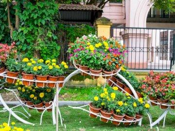 Kwiatowe kompozycje - dekoracje kwiatowe - projektowanie