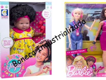boneca industrializada - boneca industrializada