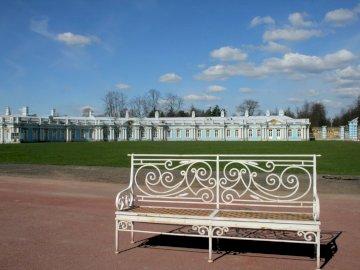 Lavice - Lavička v Petrohradu