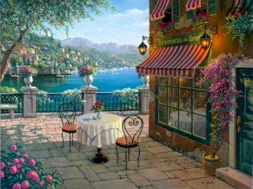Memorias de Bellagio - Memorias de Bellagio, Precioso balcon