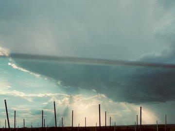ponad chmurami - latający, chmury, niebo, niebieski, biały