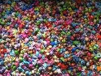 Littlest pet shop - Charming LPS, who has or arranges these puzzles give a comment :) Your Zuzusia LPS :)