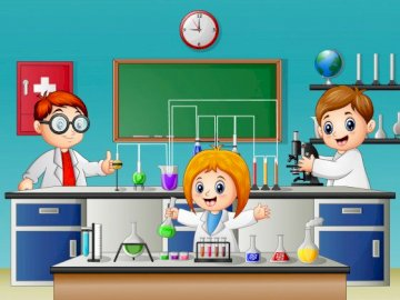 Laboratorium biologii i chemii - Wykonaj następujące czynności.