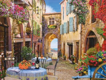 Village in France - village in France, view, vacation