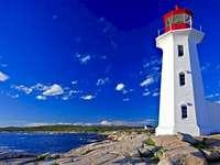 Phare de Peggy Cove Nouvelle-Écosse Canada