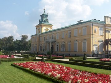 Palác ve Wilanowě - Barokní královský palác ve Varšavě v okrese Wilanów