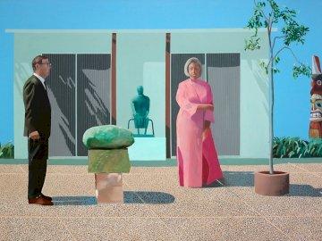 David Hockney - Αμερικανοί Συλλέκτες - ζωγραφική, τέχνη, hockney, αμερικανική