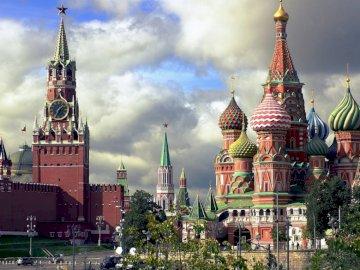 Puzzle - Moskva, hlavní město Ruska - Puzzle - Moskva, hlavní město Ruska