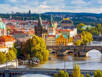 Puzzle - Prague is the capital of the Czech Republic - Puzzle - Prague is the capital of the Czech Republic