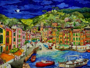 Portofino, Italy - piękny zakątek w Italii, Porto Fino