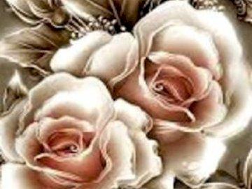 Witraż       . - Kwiaty na szkle                              .