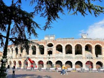 W weronie - Arena di Verona, amfiteatr, koloseum