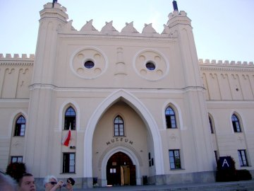 Zamek w Lublinie - Zamek królewski w Lublinie - widok współczesny