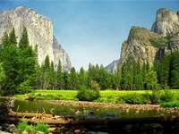 Krajina - hory - Skládejte hádanky s horskou krajinou