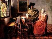 Vermeer - Glass of Wine
