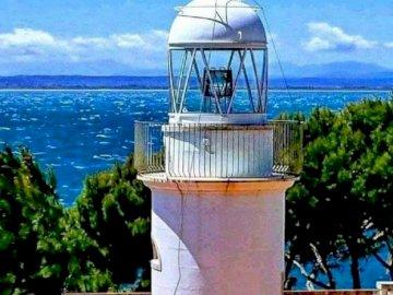 Rosas lighthouse - Mediterranean Sea, Rosas, Lighthouse, Costa Brava