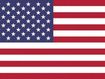 Bandera de Estados Unidos - Se muestra la bandera de Estados Unidos, sirve para introducir la Guerra Civil de este país.