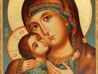 Maagd Maria met kindje Jezus