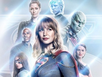 supergirl - supergirl and the cast