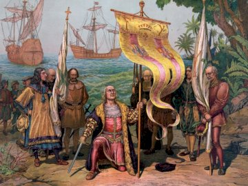 The discovery of America - The discovery of America by Christopher Columbus