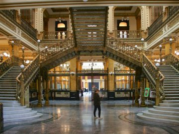 The interior of the post office - The interior of the post office on the antipodes