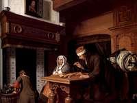 Cornelis de Man - The Goldweigher
