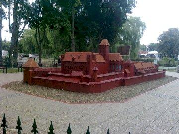 Miniaturschloss - Deutsches Schloss in Miniatur in Malbork