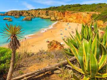 Ocean Beach, Portugal - Strand am Meer in Portugal.
