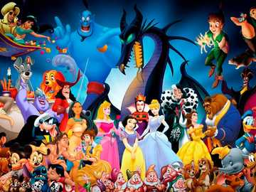 Disney puzzle - Remember each movie with this beautiful puzzle.