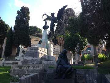 Magnani Galeazzi - Cagliari Monumentalny cmentarz