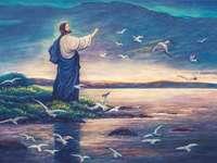 Jesús y el mar