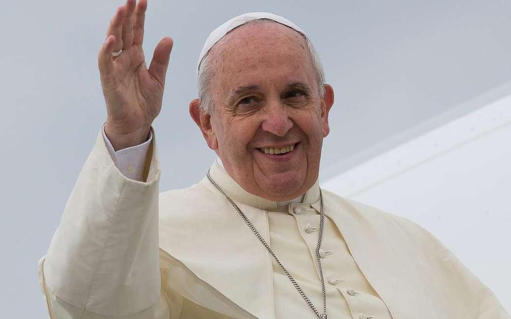Papa francesco - Papa, un bun păstor. Recompuneți imaginea și veți găsi un păstor bun (8×5)