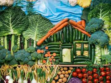 vegetable garden - enchanted garden - health alone