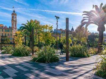 Nizza-France - Bella e bella città della Francia