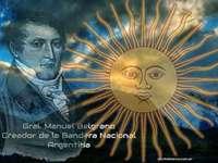 Belgrano - Belgrano. Dit is de maker van onze vlag. Een belgrano om makkelijk in elkaar te zetten.