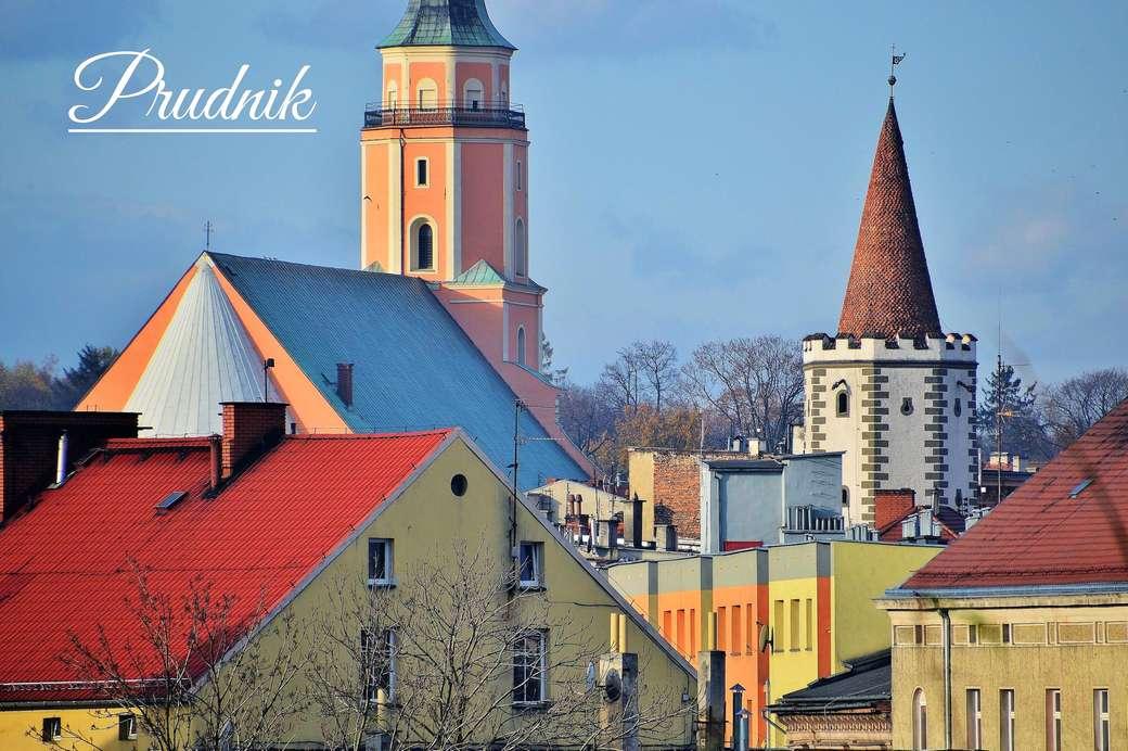 Prudnik - μια πόλη στους πρόποδες των βουνών Opawskie - Ένα κομμάτι της παλιάς πόλης Prudnik (φωτογραφία: Tygodnik Prudnic