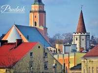 Prudnik - egy város az Opawskie-hegység lábánál