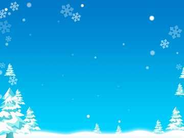 invierno frio - árboles blancos contra el cielo azul