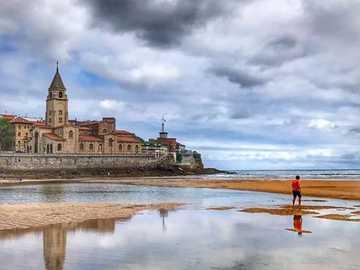 playa San Lorenzo - playa San Lorenzo Gijon