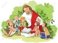 Исус обича децата