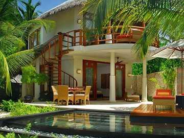 casa de férias - casa de férias no verão