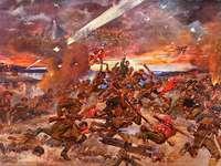 Batalha de Varsóvia - Jerzy Kossak A Batalha de Varsóvia