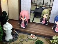 O casă japoneză - Intrarea într-o casă destul de japoneză